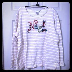 Christopher & Banks Holiday Sweatshirt